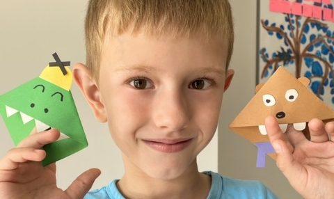 Jak zrobić prostą zakładkę do książki dla dzieci? – instrukcja w 4 krokach