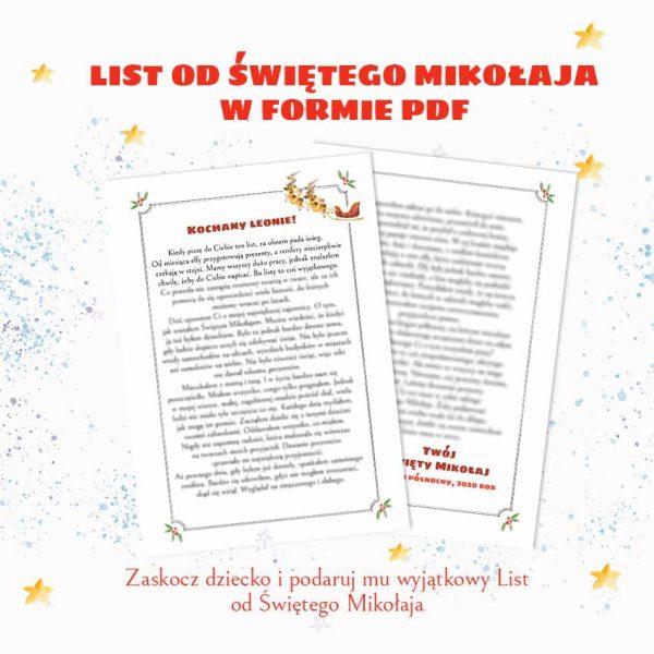 List od świętego Mikołaja_okładka