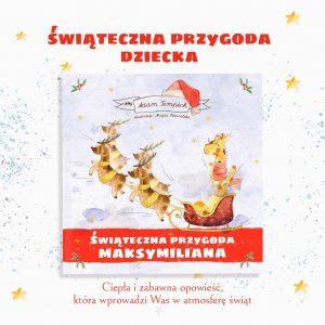 Bajka personalizowana, książka dla dzieci na święta - idealny prezent - okładka