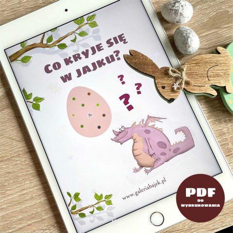 wyjątkowy prezent na wielkanoc dla dzieci - okładka w tablecie PDF