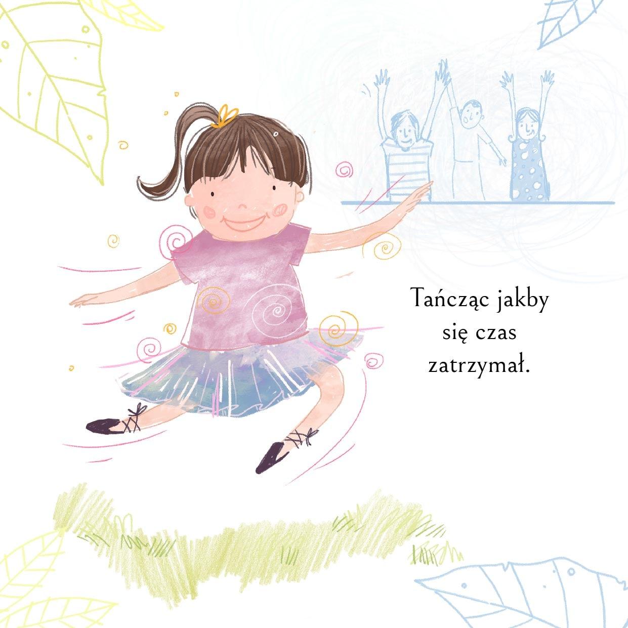 Bajka na dzień dziecka-fragment-czwarty-dziewczynka tańczy