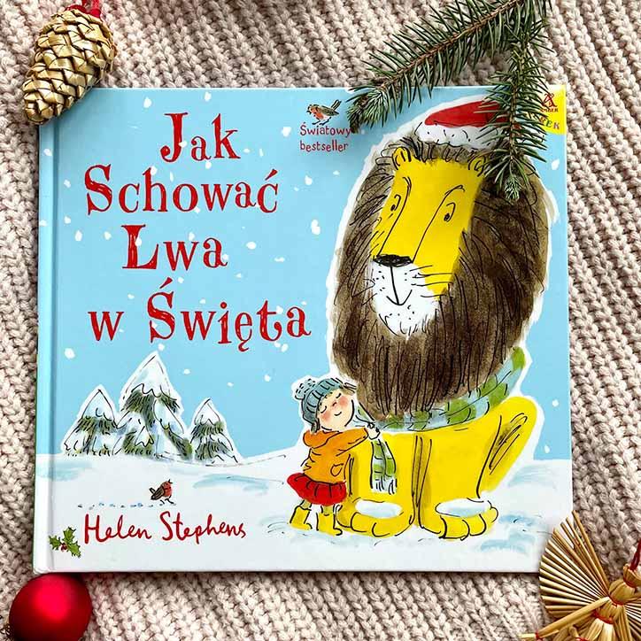 śmieszna książka na święta Jak schować Lwa w święta?