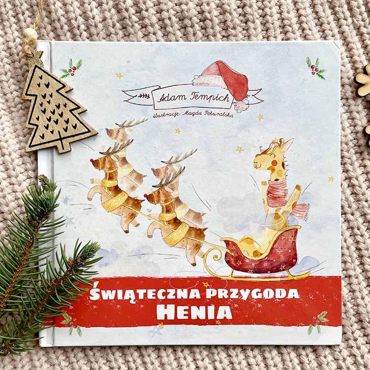 wyjątkowa świąteczna książka dla dzieci – personalizowana bajka