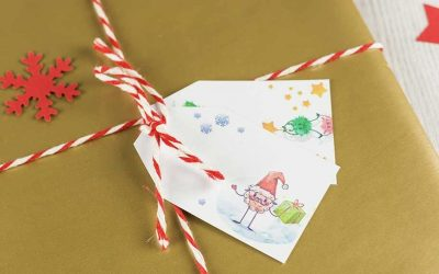 Jak zapakować książkę na prezent świąteczny dla dzieci? – sprawdź prosty i kreatywny sposób
