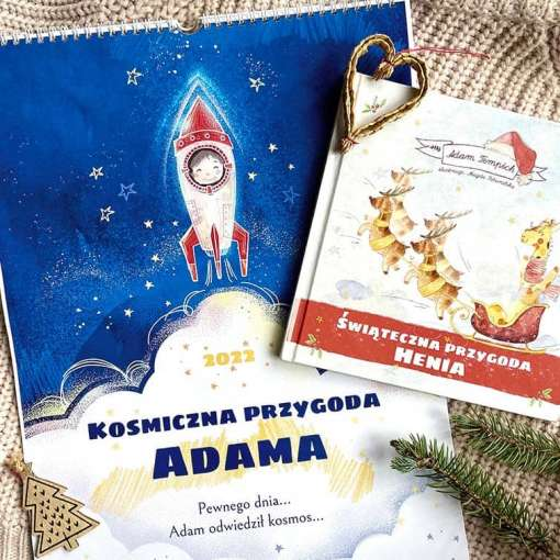 pakiet kalendarz plus książka świąteczna